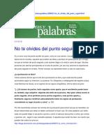 Redaccion y Gramatica Española
