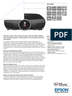 Epson EH-TW9300 3D Full HD Gaming / Home Theatre 3LCD Projector with 4K-Enhancement Technology