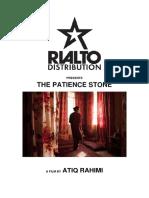 The Patience Stone Press Kit