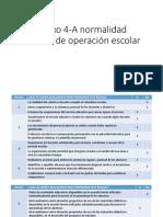 Anexo 4-A Normalidad Mínima de Operación Escolar