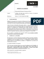 011-16 - Pre - Mun.dist.Stgo.surco Computo Plazo Para Resolver Recurso Apelacion Presentado Ante La Entidad