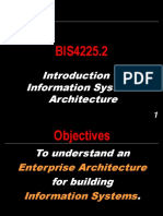 BIS4225.2 - Introduction to Information Systems Architecture.ppt