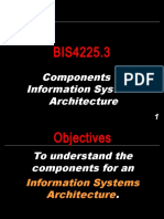 BIS4225.3 - Components of Information Systems Architecture.ppt