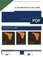 Clasificacion de Rebordes Alveolares.allen Seibert