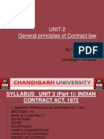 General Principles of Contract[1]