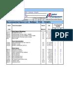 Blr 71564 - Contract m74154 - Model p200 - Ccbsa - Lubango - Angola