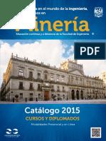 Catalogo Cursos Unam_2015