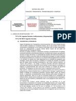Agentes Sociales, Institucionales y Empresariales