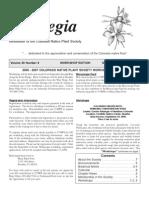 September-October 2006 Aquilegia Newsletter, Colorado Native Plant Society