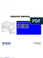 Epson SCT7000 Series Service Manual