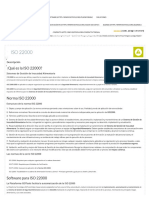 ISO 22000 - Software ISO