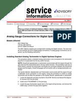 Analog Gauge Connections for Digital Optimax Models