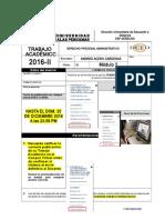 TA-2016-2 MODULO II (Derecho Procesal Administrativo) (Ciclo.vi)