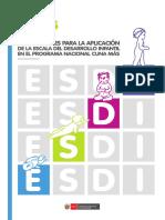 Orientaciones Para La Aplicación de La ESDI en El PNCM