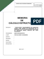 Memoria de Calculo Estructura Metalica