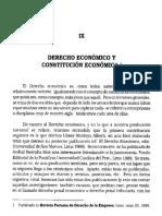 Derecho Economico y Constitución Económica