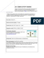tpack samr critter count activity template