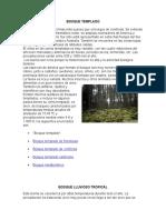 desarrollo sustentable ECOSISTEMAS