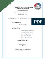 Informe de Embriologia Anomalias Cardio (2)