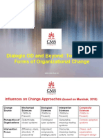 Dialogic OD and Beyond- Towards New Forms of Organisational Change - Cliff Oswick