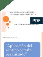 Metodologia en Investigacion Cuantitativa