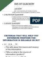 ALTERNATIVE MEDICINES,QUACKERY and BASIC RIGHTS.pptx