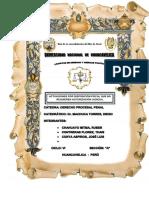 Trabajo de Procesal Penal Disposicion Fiscal