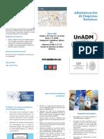 Triptico Licenciatura en Administracion de Empresas