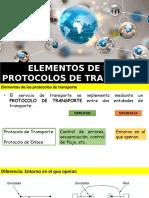 Elementos de Los Protocolos de Transporte