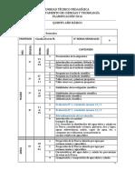 Planificación Quinto Basico C.naturales 2016