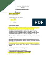 Reactivos Cálculo Integral 1 1