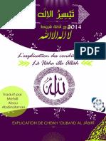 L'Explication Des Conditions de Lâ Ilâha Illa Allah Part 1 a 7