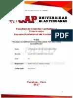 Trabajo Academico de Contabilidad Por Sectores Economicos