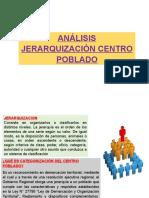 Jerarquizacion Centro Poblado
