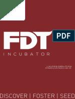 Brochure - FDT Incubator