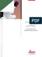 Leica MZ6 Brochure
