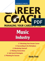 Career Coach - Managing Your Career in the Music Industry - Shelly Field (2008.)