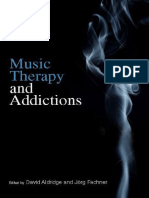 Music Therapy and Addictions by David Aldridge