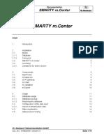 Manual SMARTY MCenter