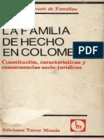 La Familia de Hecho en Colombia