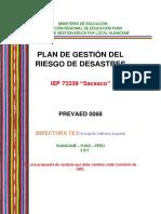 Plan Grd Iiee Huancane
