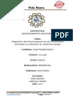 Informe de Mantenimiento Industrial Final