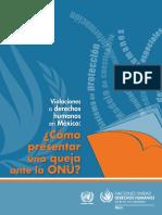 Violaciones a derechos humanos en México