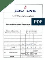 SAF-000-PRO-0056S Procedimiento de Permisos de Trabajo