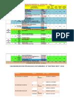 Calendarizacion Pedagogica Ie Secundaria