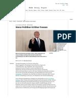 Demokratie - Wenn Politiker Kritiker fressen - Politik - Süddeutsche.de