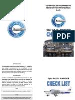 Listas de Chequeo 2015 (Folleto) Corregido