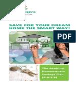 First Aspiring Homeowners Savings Plan Brochure