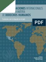 Recomendaciones internacionales a México en materia de derechos humanos. Contrastes con la situación en el país