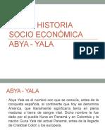 Breve Historia Socio Económica Abya - Yala